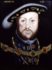 King Henry VIII by  English School