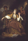 Mrs Siddons as the Tragic Muse after Reynolds by Moses Haughton