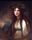 Emma Lady Hamilton by George Romney