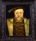 King Henry VIII by Hans  Holbein, Follower of