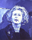Margaret Thatcher PM by Ruskin Spear