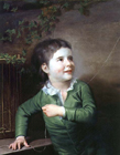 Young boy with a kite by Joseph Wright of Derby ARA
